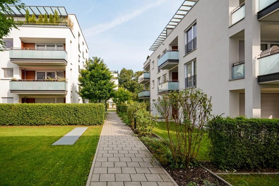 mieszkanie z ogrodem